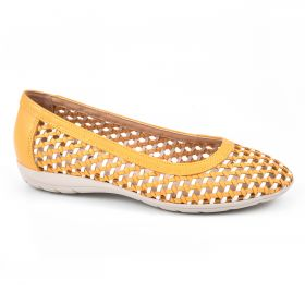 Faylie Leather Flat