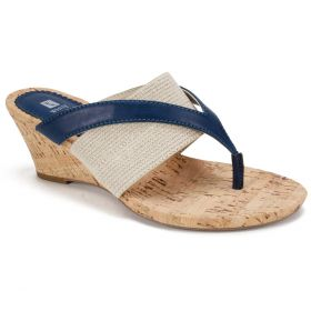 Alanna Wedge Sandal