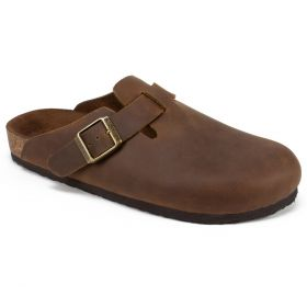 Bari Leather Footbeds Clog