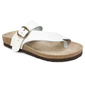 Carly Leather Footbeds Sandal