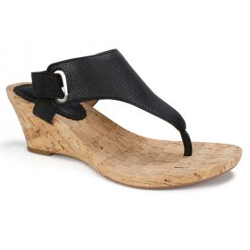 All Glad Leather Wedge