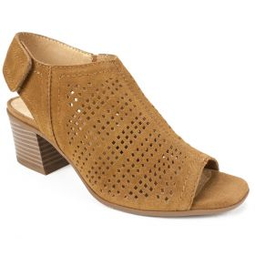 Lorna Suede Leather Heel