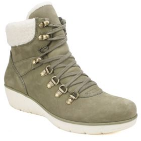 Emory Nubuck Leather Bootie