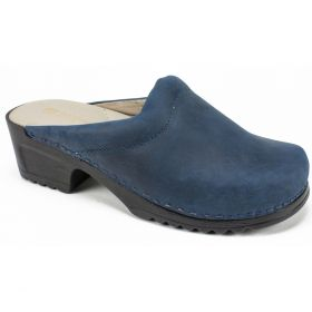 Hana (Monica) Leather Clog