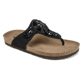 Hanaleigh Leather FOOTBEDS™ Sandal