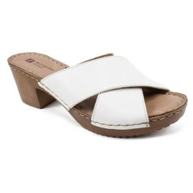 Moon Italian Leather Sandal