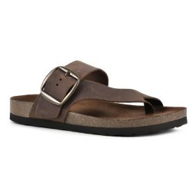 Harley Leather Footbed Sandal