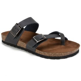 Gracie Leather Footbeds Sandal