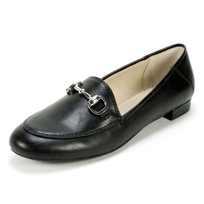 ac3ecd4a4264 Rialto Shoes Georgie Loafer - Black