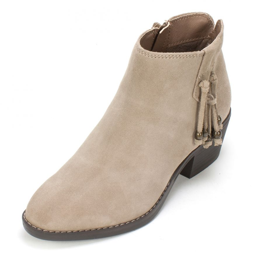 6878ab691475 White Mountain Shoes Havana Suede Bootie - Taupe