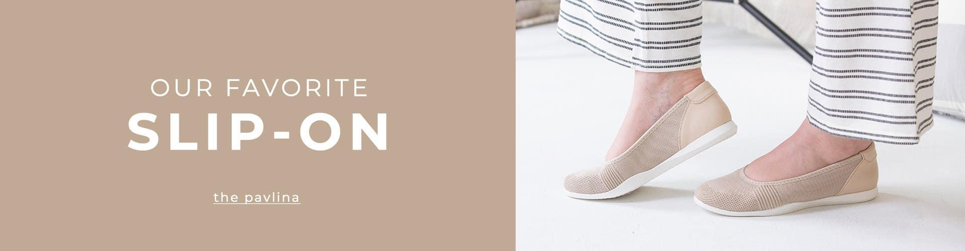 Our Favorite Slip-On | the Pavlina