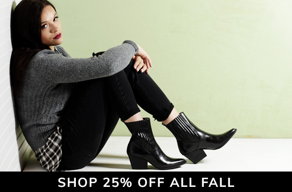 Extra 25% off Fall arrivals with code HELLOFALL25