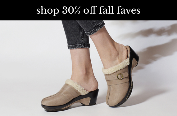 Shop 30% Off Fall Faves with code WELOVE30