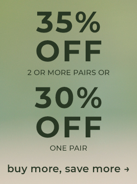 Shop 35% Off 2+ Pairs or 30% Off 1 Pair