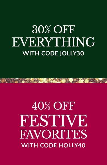 40% Off Festive Favorites