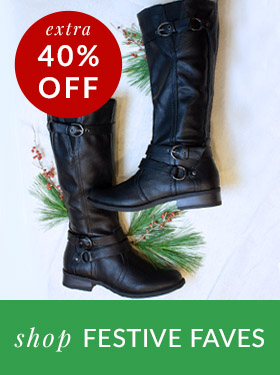 Extra 40% Off Shop Festive Faves