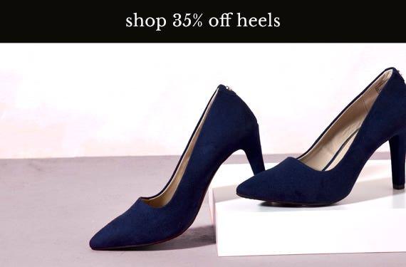 35% Off Heels