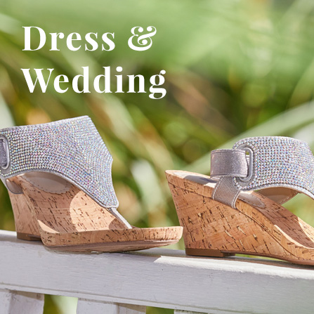 White Mountain Dress and Wedding Shoes Collection