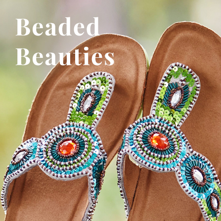 White Mountain Beaded Beauties