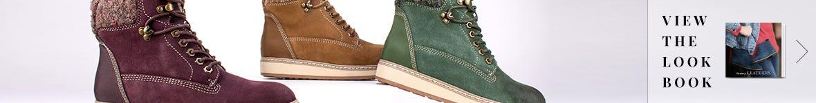 White Mountain Shoes Luxury Leathers