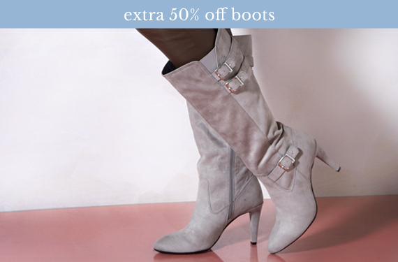 Extra 50% Off Boots with code WINTER50