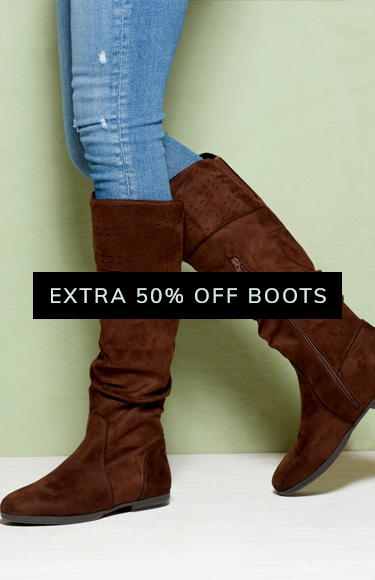 Extra 50% Off Boots