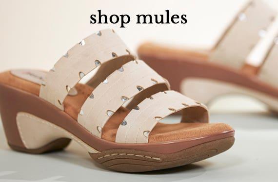 Shop Mules