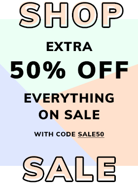 Extra 50% Off Sale with code SALE50! Shop Now