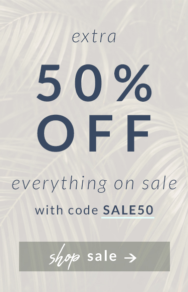 Extra 50% Off Everything on Sale Shop with code SALE50
