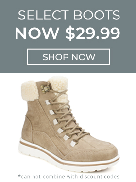 All Boots $29.99 Shop Now