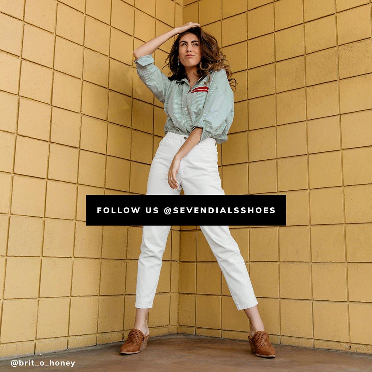 Follow Us @sevendialsshoes, Picture Credit: @brit_o_honey
