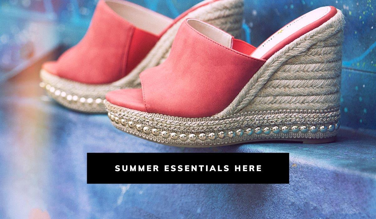 Summer Essentials Here