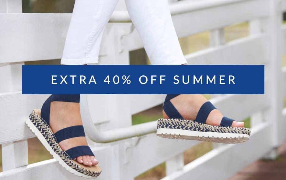 Extra 40% Off Summer