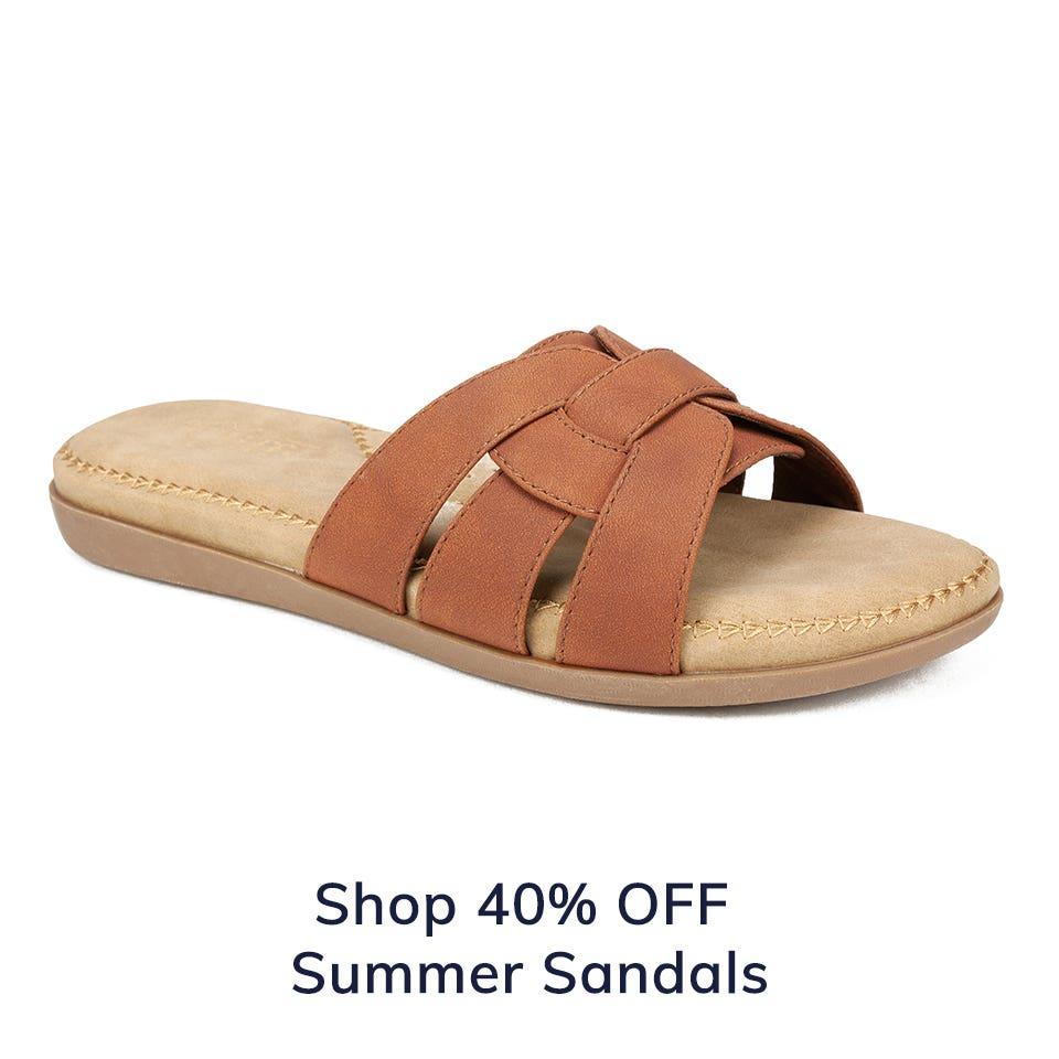 Shop Extra 40% Off Summer Sandals