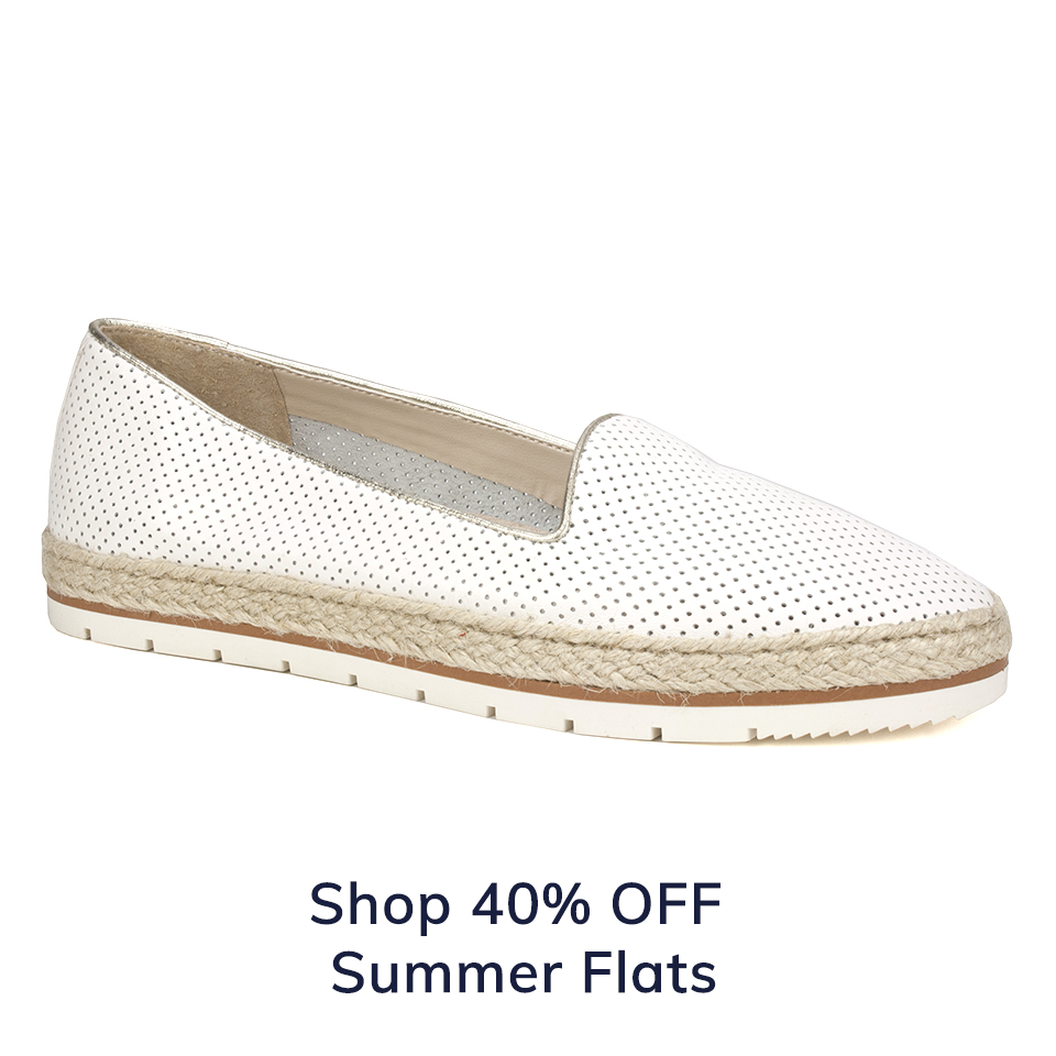 Shop Extra 40% Off Summer Flats