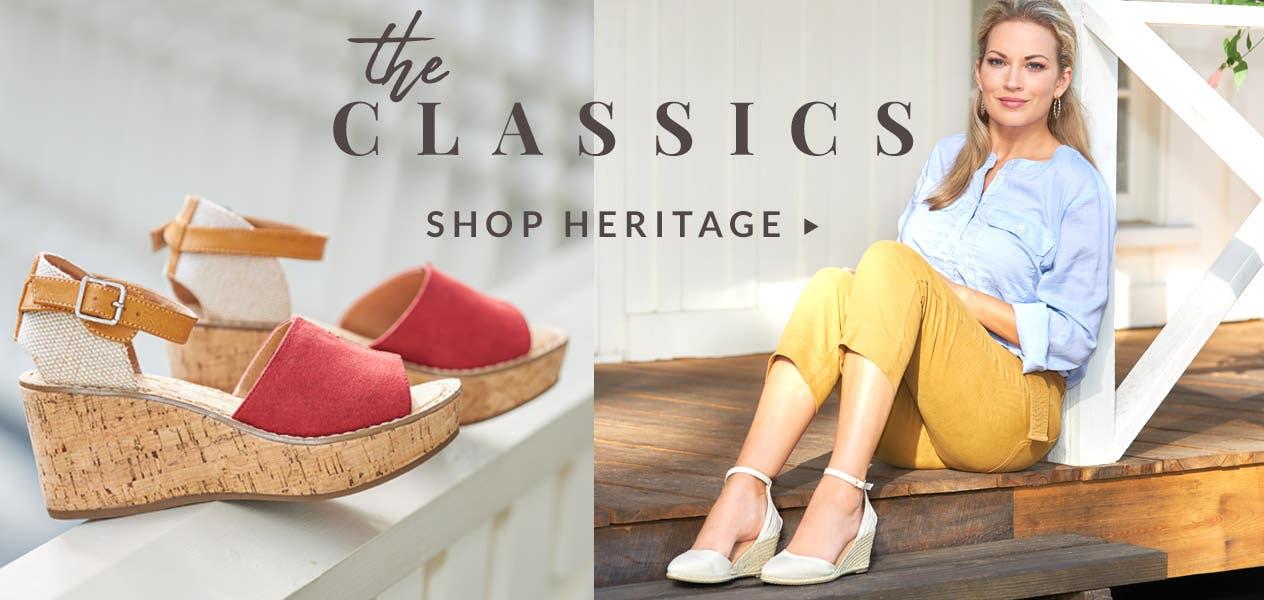 The Classics | Shop Heritage