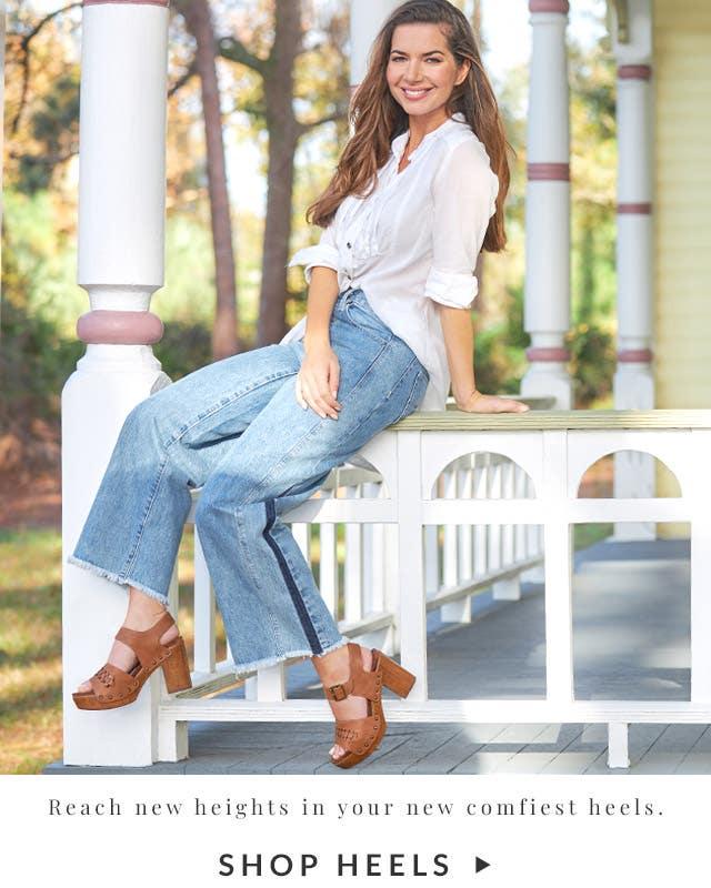 Reach new heights in your new comfiest heels. | Shop Heels