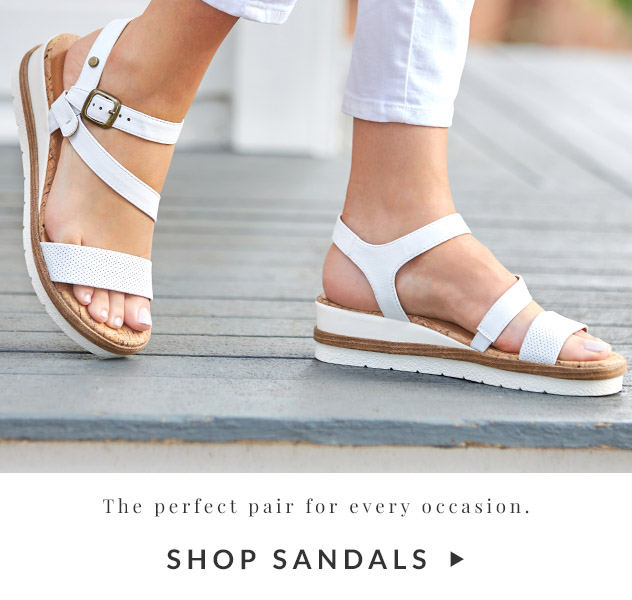 The perfect pair for every occasion. | Shop Sandals