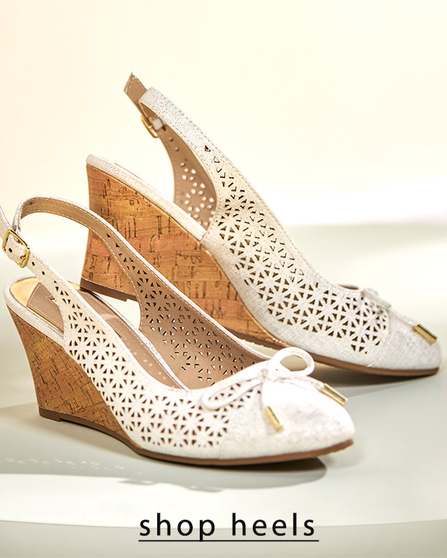 Shop Heels and Wedges