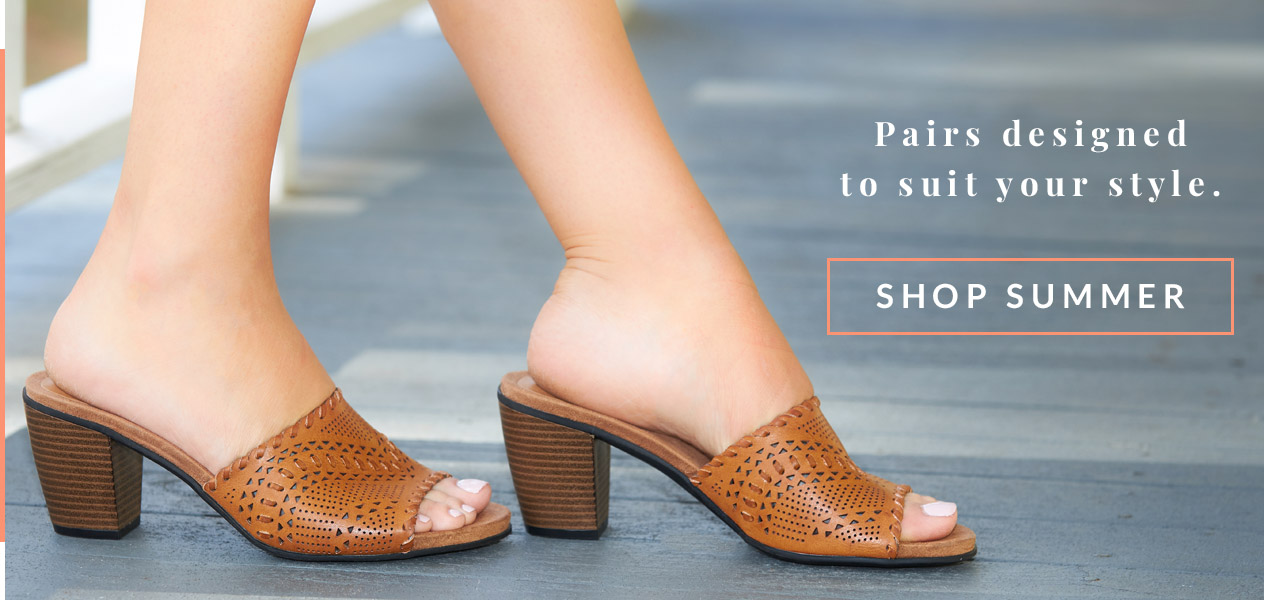 Pairs designed to suit your style.   Shop Summer