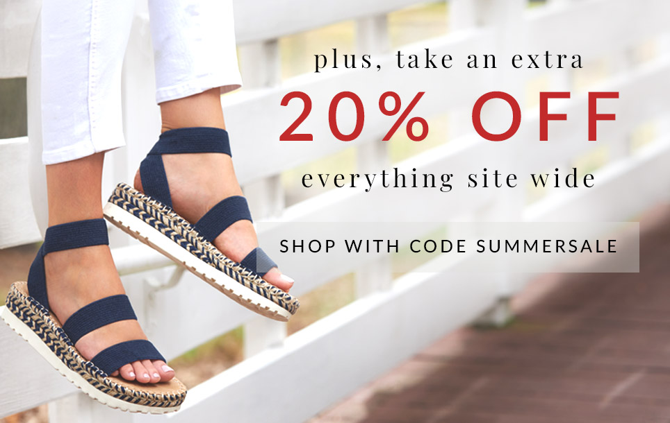 plus, an extra 20% off everything site wide shop with code SUMMERSALE