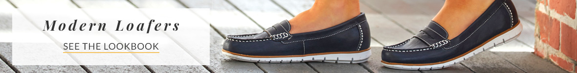 White Mountain Shoes Modern Loafers Collection