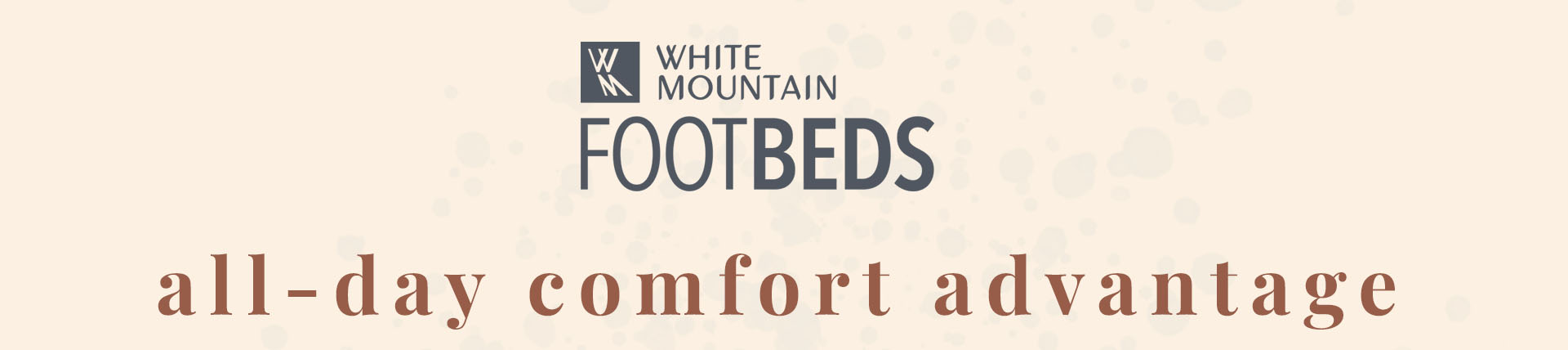 White Mountain FOOTBEDS - All Day Comfort Advantage