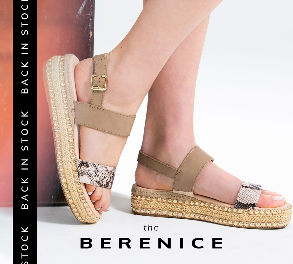 Back In Stock | Shop the Berenice