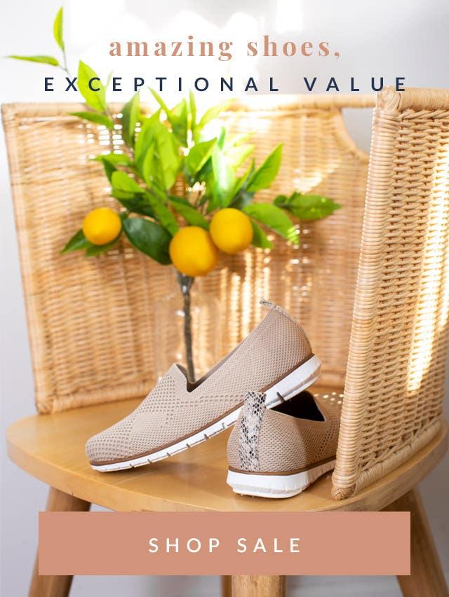 Amazing Shoes, Exceptional Value | Shop Sale