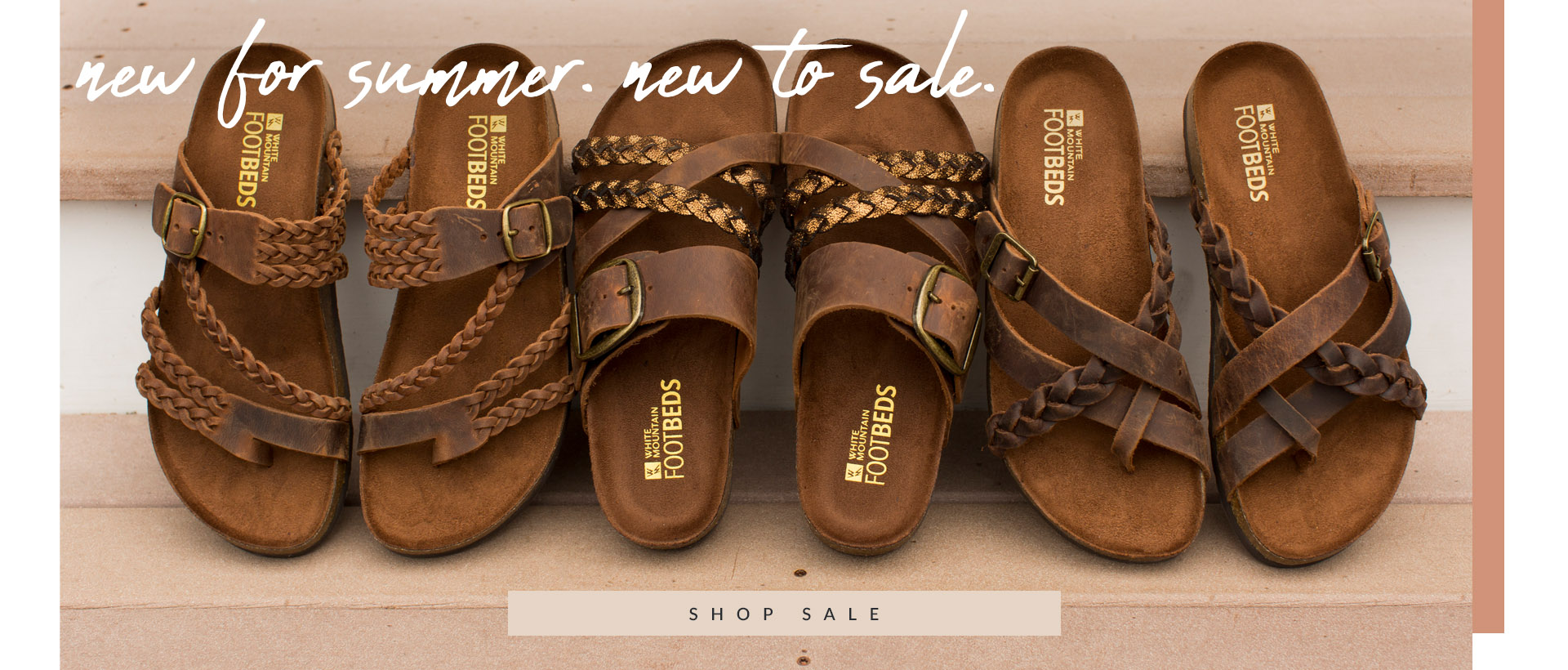 New For Summer. New to Sale.