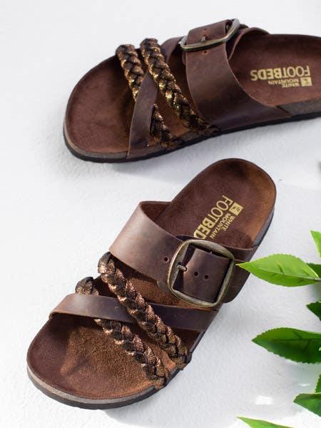 Shop the Healing Footbed Sandal