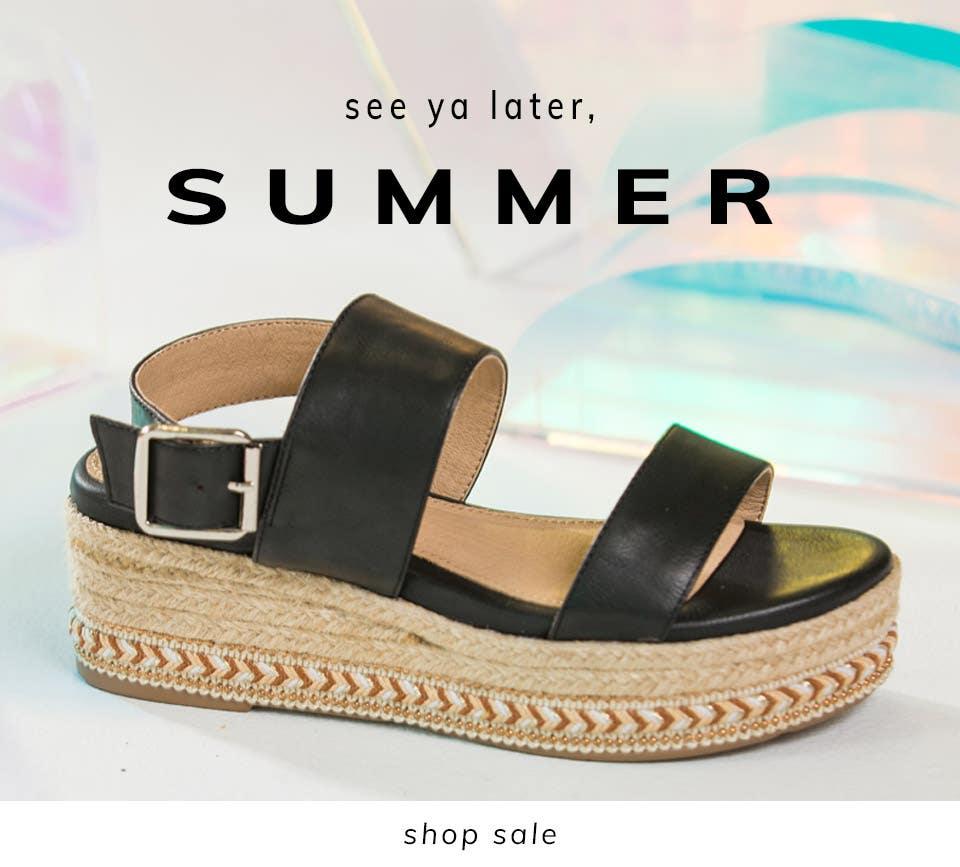 See Ya Later, Summer | Shop Sale