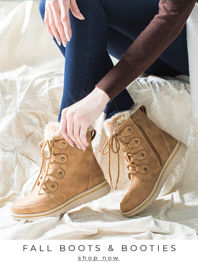 Fall Boots & Booties   shop now