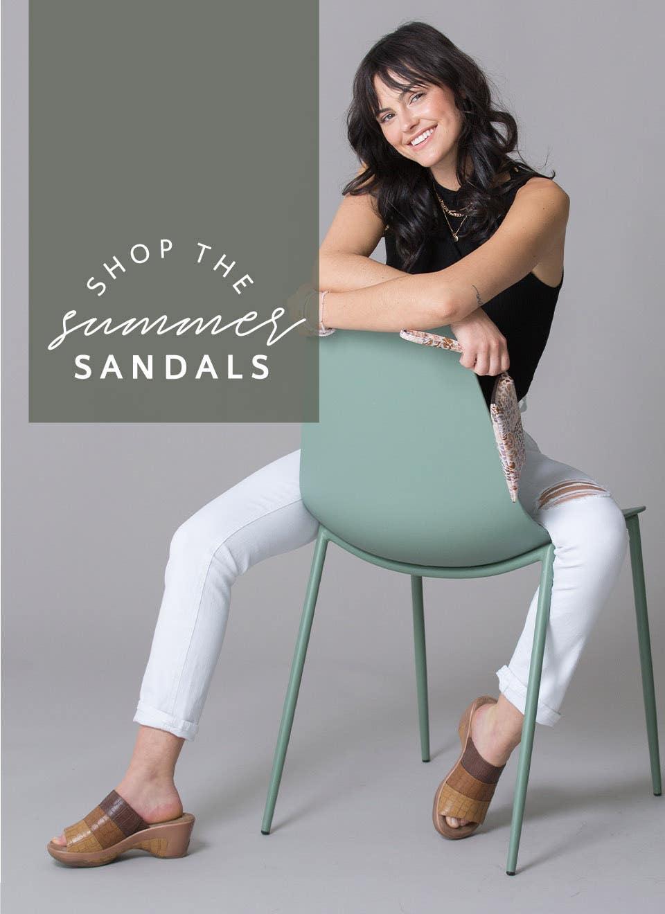Shop The Summer Sandals